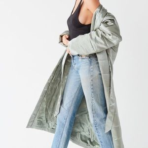 Urban Outfitters quilted jacket